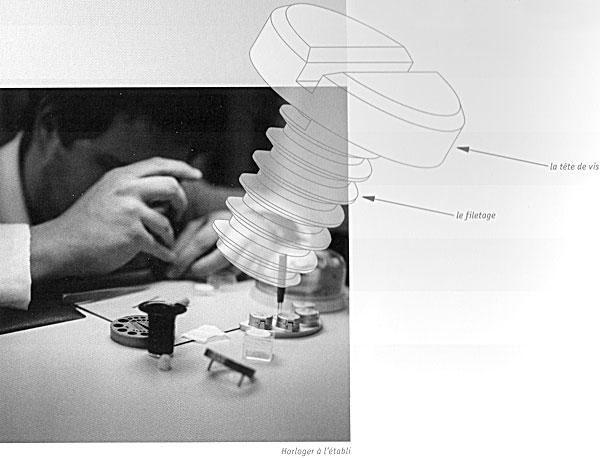 article sur la terminaison horlog re par giulo papi la finition des vis horlog res. Black Bedroom Furniture Sets. Home Design Ideas