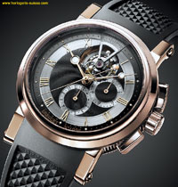 marine tourbillon chronographe